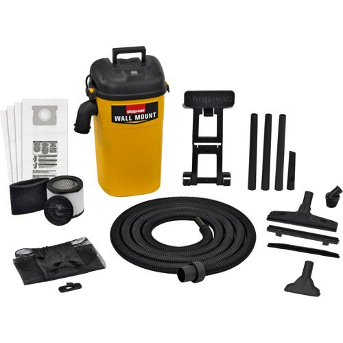 Shop-Vac® 5-Gallon 4.0 Peak HP Wall MountTM Wet/Dry Vacuum (Shop Vac Hose Storage compare prices)
