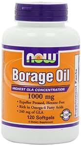 BORAGE OIL 1000 mg  120 SGELS