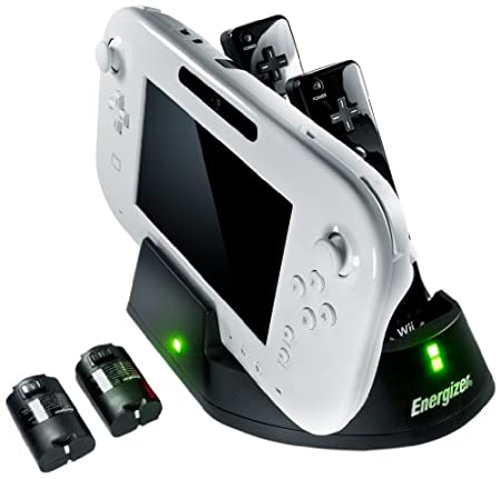 Energizer 3x Charge Station for Wii U