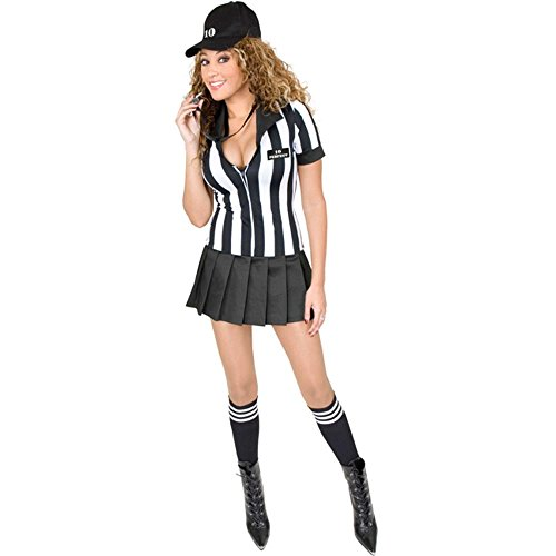 Sexy Teen Referee Costume (Size: Teen 14-16)