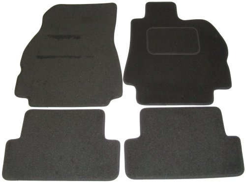 Car Mats for Renault Megane 2002 to 2006 in Black