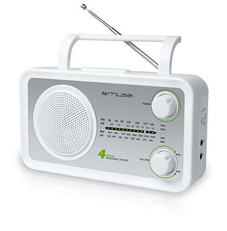 Radio FM MUSE M05SW BLANC