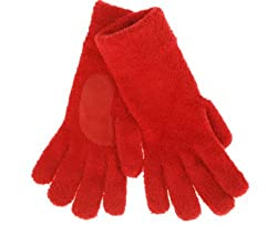 ISO Isotoner Solid Color Gloves Red