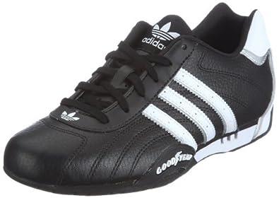 adidas Originals ADI RACER LOW G16082, Herren Sneaker, Schwarz (BLACK1/WHT/M), EU 40 2/3