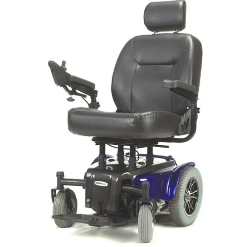 "Activecare Medalist Heavy Duty Power Chair : Red 22"" Seat"