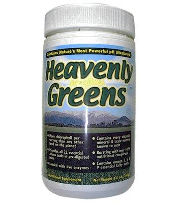 7 Lights Nutrition Heavenly Greens 8.8 Oz Powder