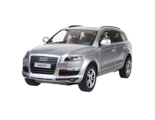RASTAR 27400 1:14 6 Channel Remote Control Audi Q7 RC Car Simulation Model with Light (Silver)