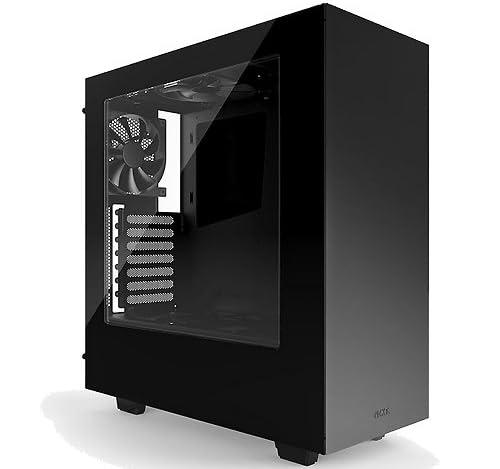 NZXTミドルタワー オールフラットスタイル [ ブラック ] SOURCE340-BK