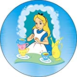 Alice in Wonderland With Tea Button B-DIS-0160