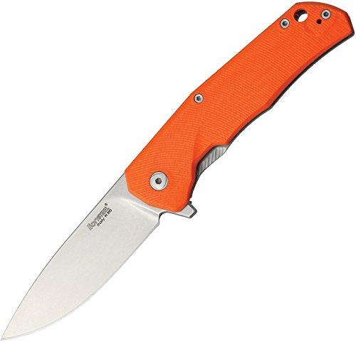 Lion Steel Knives TREGOR TRE G-10 Framelock Orange