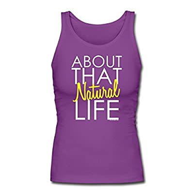Spreadshirt Women's About That Natural Life Tank Top