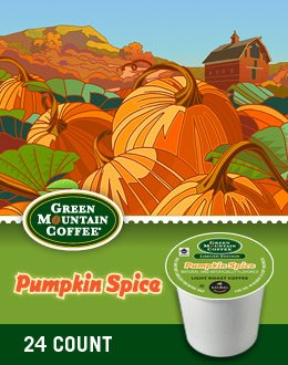 Green Mountain Coffee Pumpkin Spice K-Cups front-570907