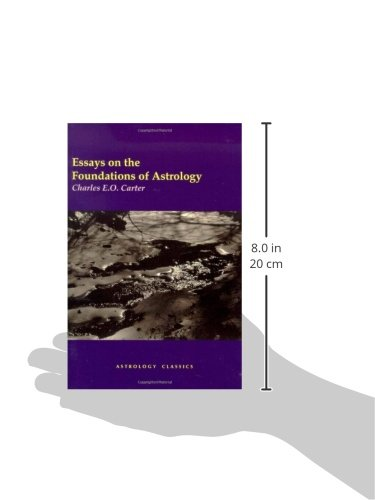 essays on the foundations of astrology Foundations of australian law is pitched exactly at the right level – in terms of both content and language – for business students, for law students, and for.