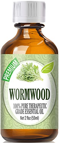 Wormwood Essential Oil (60ml) 100% Pure, Best Therapeutic Grade Essential Oil - 60ml / 2 (oz) Ounces