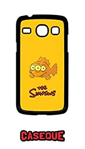 Caseque Blinky - The Simpsons Back Shell Case Cover For Samsung Galaxy Core