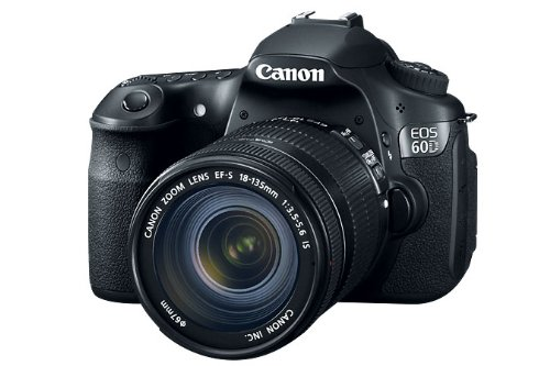 Canon EOS 60D (with 18-135mm IS Lens) is one of the Best Digital SLR Cameras Overall Under $1500