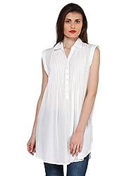 Oxolloxo Women white tunic