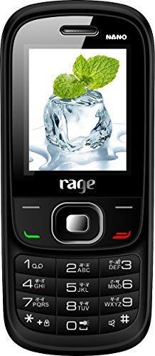 Rage Nano Plus Dual Sim Mobile-white+blue Colour