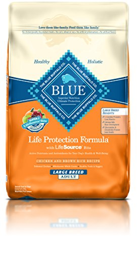 Blue Buffalo BLUE Adult Dog Chicken & Brown Rice Large Breed 30 lb