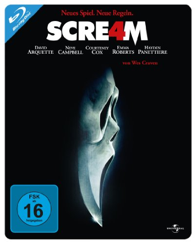 Scream 4 - Steelbook (Limited Edition) [Blu-ray]