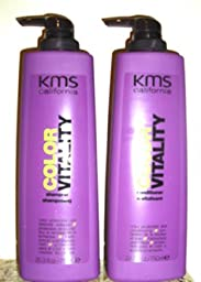 KMS Color Vitality 25.3 oz. Shampoo + 25.3 oz. Conditioner (Combo Deal)