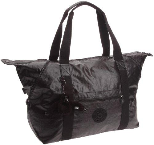 Kipling Women's Art M Duffel/Travelgear Lacquer Black K10988952