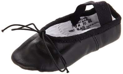 Capezio Daisy 205 Ballet Shoe (Toddler/Little Kid),Black,7 W US Toddler