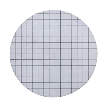 Whatman 10406870 Cellulose ME25/21 ST Mixed Ester Filter Membrane, 47mm White Circle with 3.1mm Black Grid Sterile, 0.45 Micron (Pack of 100)