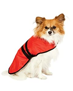 Fashion Pet Blanket Coat for Dogs, Essential Red, Large