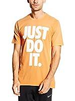 Nike Camiseta Manga Corta Tee-Solstice Jdi (Naranja)