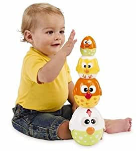 Earlyears Chicken 'n Egg Stackers (Discontinued by Manufacturer)