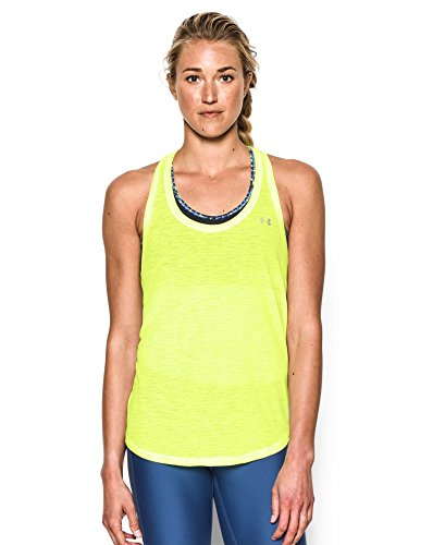 Under Armour Women's Tech Slub Flowy Tank, X-Ray (786), Medium