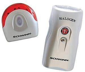 Schwinn Xenon Bicycle Headlight and Seat Post Light Combo Set