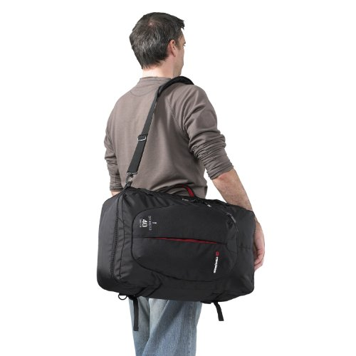 Caribee Carry On Luggage Sky Master 40 Backpack (Black)