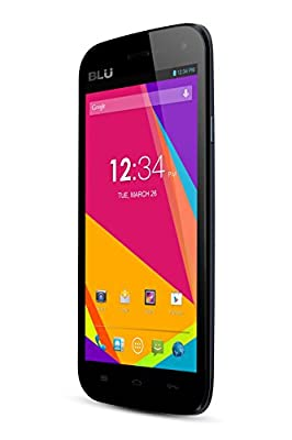 BLU Studio 5.0 II Unlocked Dual SIM Phone with Dual-Core 1.3GHz Processor, Android 4.2 JB, 4G HSPA+ and 5MP Camera...