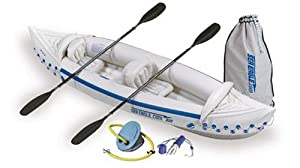 SE330-DLX Sea Eagle 330 Inflatable Kayak with Deluxe Bundle Package