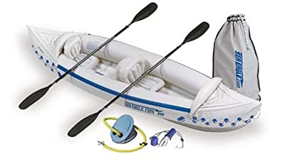 SE330-DLX Sea Eagle Deluxe Bundle Package 330 Inflatable Kayak