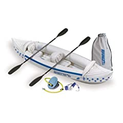 Buy Sea Eagle 330 Inflatable Kayak with Deluxe Package by Sea Eagle