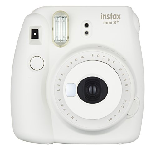 Fujifilm Instax Mini 8+ (Vanilla) Instant Film Camera + Self Shot Mirror for Selfie Use (Japan Import)