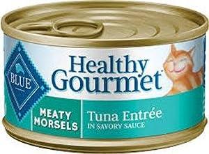 Blue Healthy Gourmet Cat Meaty Morsels Tuna 24/3Oz