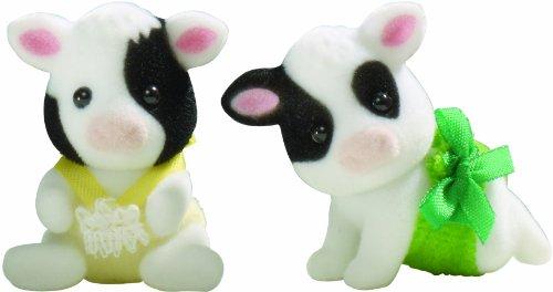 Sylvanian Families Friesian Cow Twin Babies