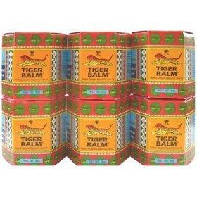 6x 30g NIB Big Jar Tiger Balm Red Thai Original Massage Spa Pain Relief (Tigers Jar compare prices)