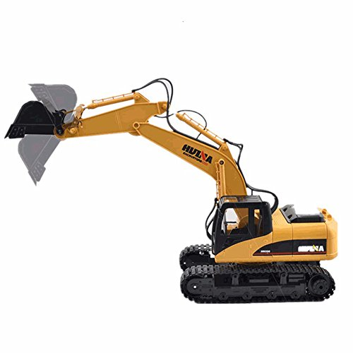 MyZenStore HuiNa Toys1550 15Channel 2.4G 1/12RC Metal Excavator Charging RC Car (Rc 1 10 Trailer Kit compare prices)