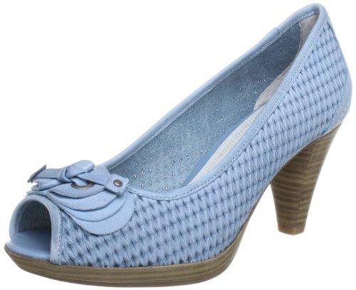 Marco Tozzi 2-2-29315-20 Peep-Toe Women blue Blau (SKY ANTIC 865) Size: 7 (41 EU)