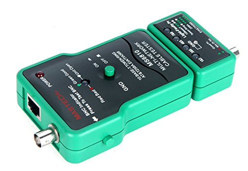 Amaranteen - Multi Network Cable Tester Meter Rj45 Bnc Tests For Coaxial Cable