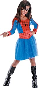 Spider-Girl Classic Costume, Child (3T-4T)