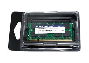 Super Talent DDR2-800 SODIMM 4 GB Notebook Memory - Bulk T800SB4G/V