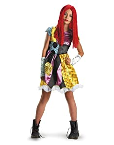 Nightmare Before Christmas Costume, Kids Sally Tween Outfit, Large ...