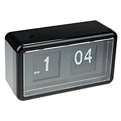 Tonsee Auto Flip Clock Stylish Modern Desk Wall Digital Clock Home Decor