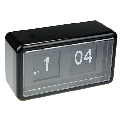 Tonsee Auto Flip Clock Stylish Modern Desk Wall Digital Clock Home Decor